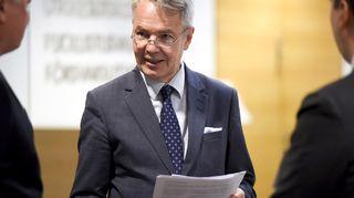 Ulkoministeri Pekka Haavisto