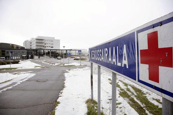 Lapin keskussairaala Rovaniemellä.