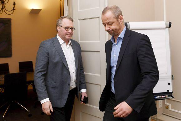 Jyrki Hollmen ja Petri Vanhala
