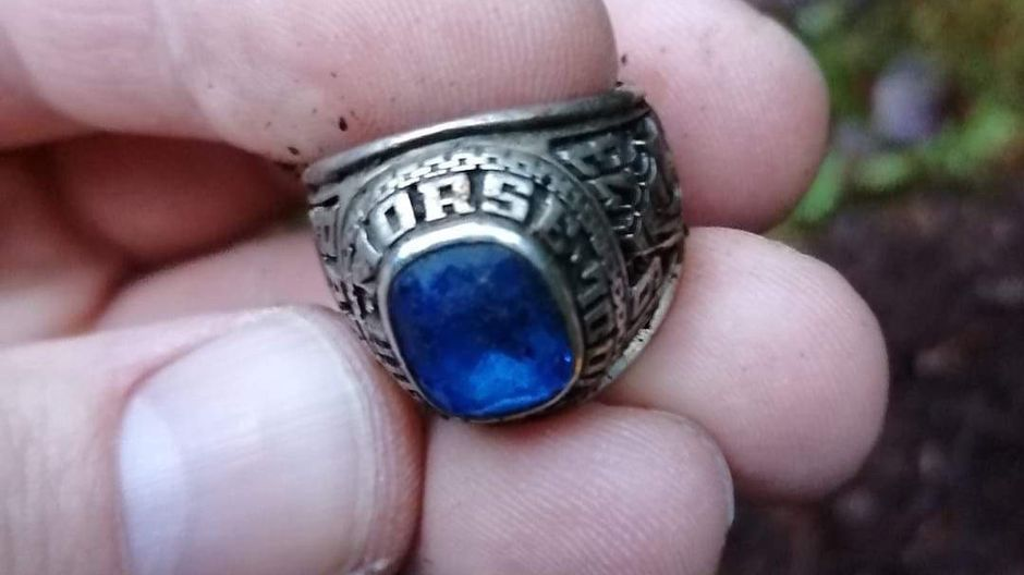 American's missing class ring turns up in Finnish forest 47 years later