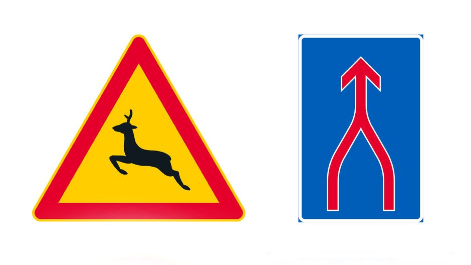 New traffic signs to be simplified and genderless