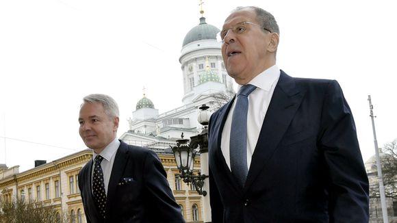 Pekka Haavisto ja Sergei Lavrov