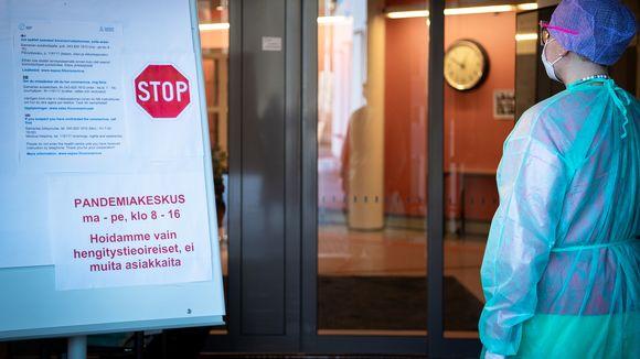 Espoon Samarian terveysasema toimii pandemiakeskuksena.