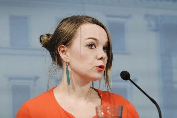 Valtiovarainministeri Katri Kulmuni.