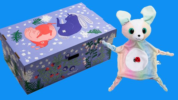 laatikko ja lelu äitiyspakkaus 2020