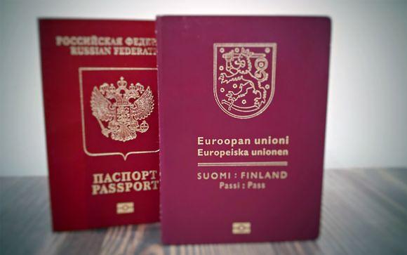 Venäjän ja Suomen passit