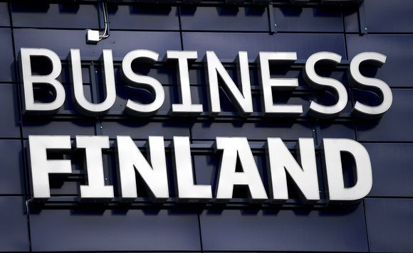 Business Finlandin logo Helsingissä