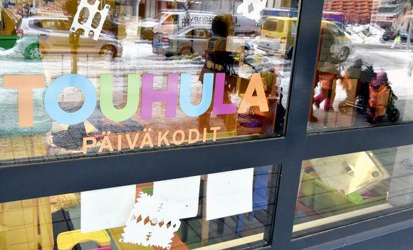 Touhulan päiväkoti Helsingin Lauttasaaressa.