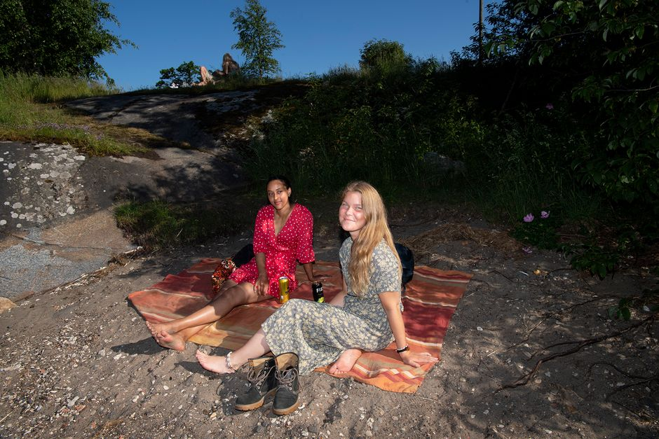 Ayaan Koivisto ja Magdalena Koponen