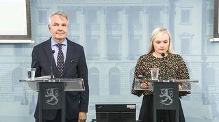 Pekka Haavisto ja Mari Ohisalo