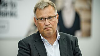 Pekka Tulokas Helsinki-Vantaan lentokentällä perjantaina 7. elokuuta 2020.