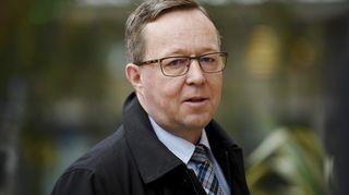 Elinkeinoministeri Mika Lintilä saapui hallituksen talousarvioneuvotteluiden kolmannen päivän istuntoon
