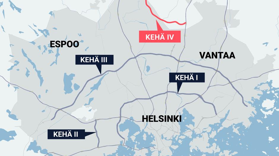 Short Ring IV road planned to help relieve Helsinki region traffic congestion