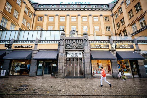 Yökerho Fontana Club Vaasassa on toistaiseksi suljettu 6. lokakuuta 2020.