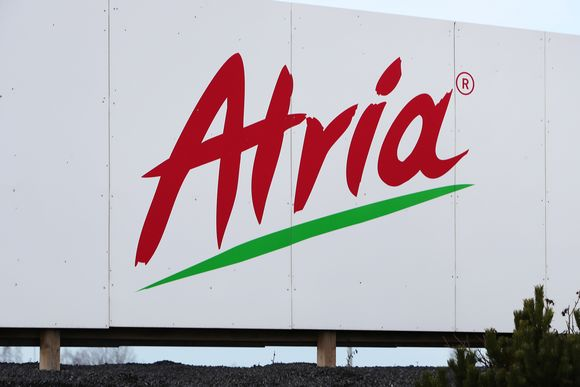 Kuvassa on Atrian logo.