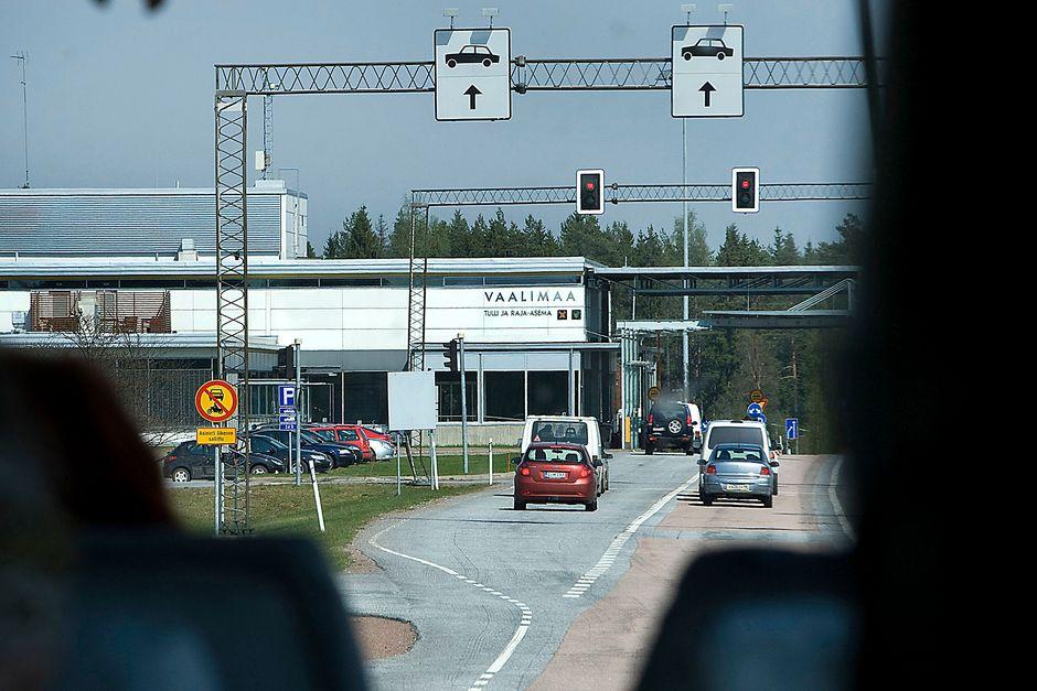 Kuvassa Vaalimaa, Suomen ja Venäjän välinen tulli ja raja-asema.