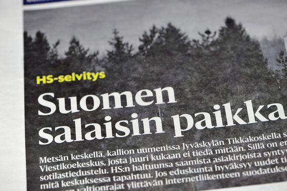 Helsingin Sanomien selvitys ilmestyi lauantain lehdessä 16. joulukuuta 2017