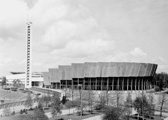 Olympiastadion vuonna 1952.