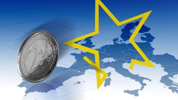 Eurokolikko, Euroopan kartta ja EU-tähti