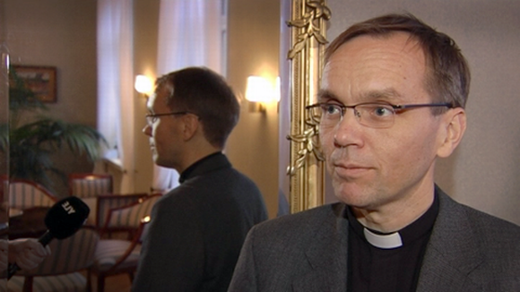 Piispaksi vihittävä Björn Vikström