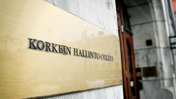 Korkeimman hallinto-oikeuden talo Helsingin Fabianinkadulla.