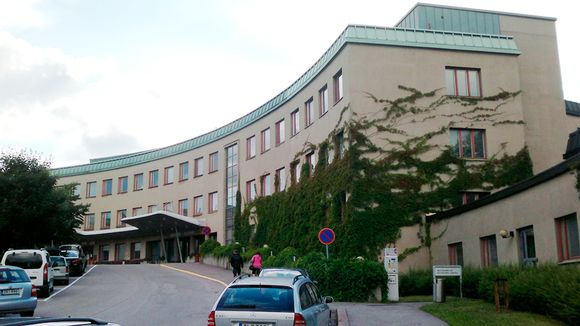 Lastenklinikka Helsingissä 6. heinäkuuta 2013.