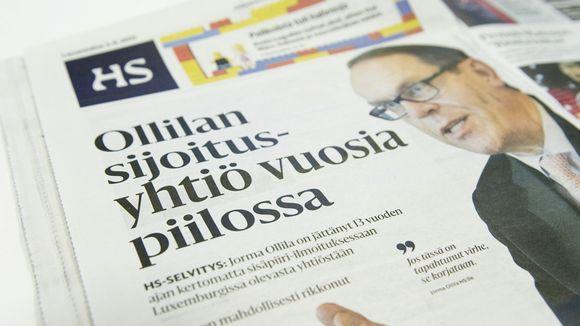 Helsingin sanomat 3. elokuuta 2013.
