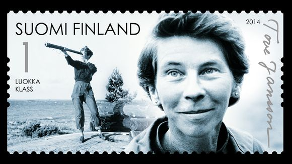 Tove Jansson -postimerrki.