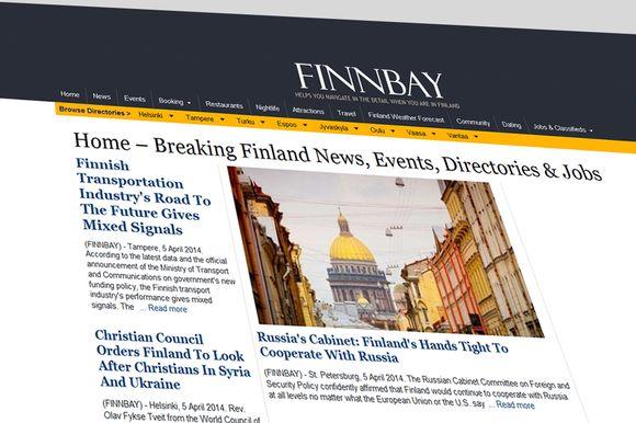 Finnbay's English-language news reporting under scrutiny | Yle Uutiset | yle.fi