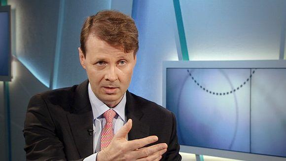 Nokian hallituksen puheenjohtaja Risto Siilasmaa.