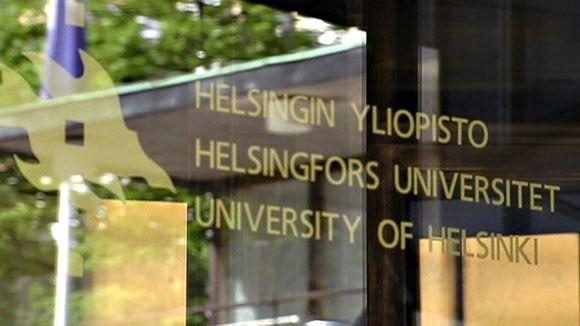 Helsingin yliopiston ovi.