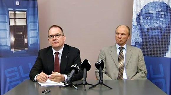 Antti Pelttari ja Tuomas Portaankorva.