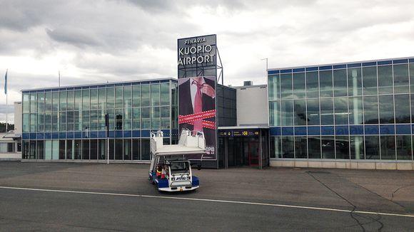 Kuopion lentokenttä.