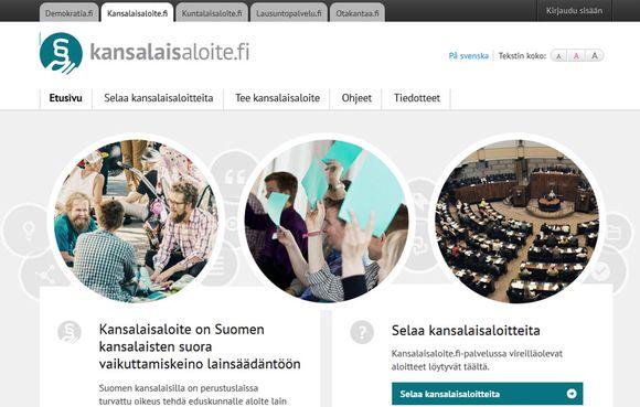 kansalaisaloite, vaikuttaminen, demokratia, kuvakaappaus (kansalaisaloite.fi), vaikuttamiskeino, kansalainen, vaikuta,