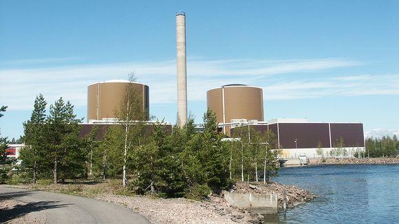 Fortumin ydinvoimala Loviisassa.
