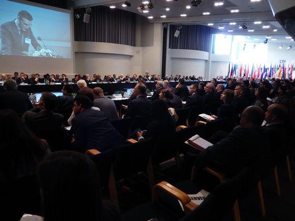 Ydinterrorismia käsittelevä konferenssi Helsingissä.