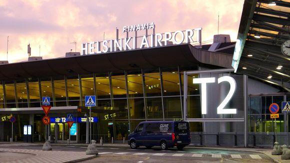 Helsinki Vantaan lentokenttä terminaali 2