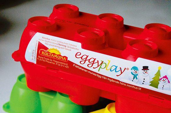 Vuoden turhakkeeksi on valittu muovinen kananmunakotelo.