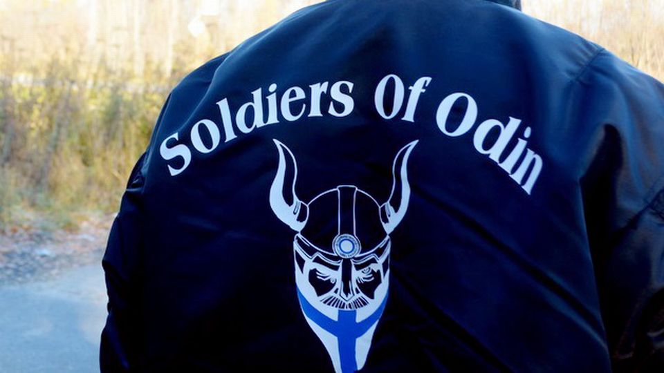 Woman Trademarks Soldiers Of Odin Name For Unicorn Themed Clothing