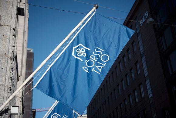 Helsingin pörssitalo.