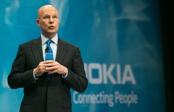 Nokian talous- ja rahoitusjohtaja Timo Ihamuotila.