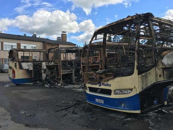 Animal rights group claims responsibility for bus arson