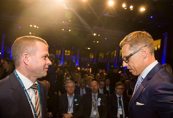 Petteri Orpo ja Alexander Stubb.