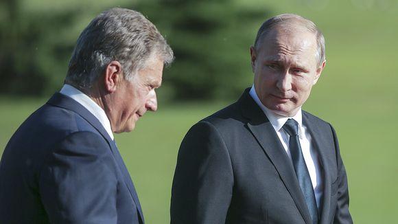 Sauli Niinistö ja Vladimir Putin
