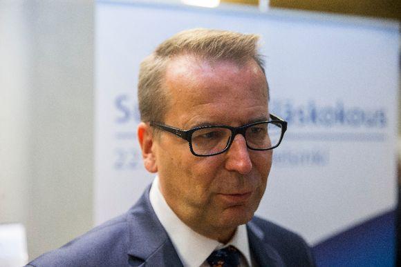Jarmo Viinanen Helsingissä suurlähettiläspäivillä 22. elokuuta 2016.