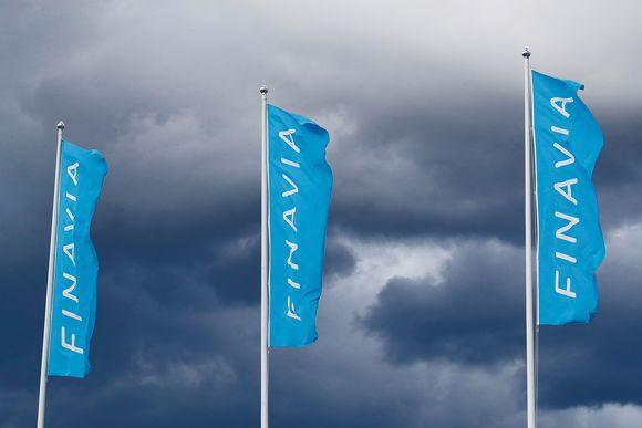 Finavian lippuja.