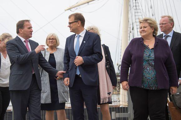 Pääministerikokous Ahvenanmaalla 27. syyskuuta 2016.