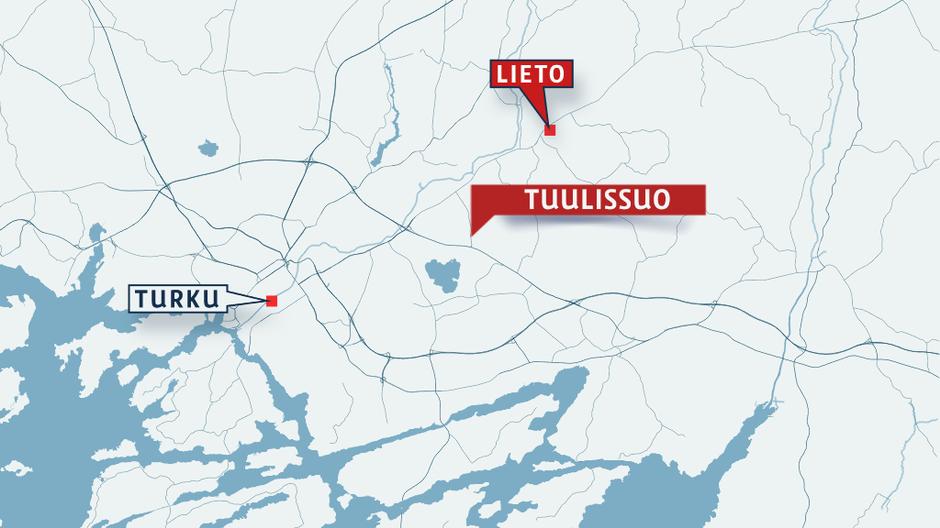 В Лието проходит полицейская операция | Yle Uutiset | yle.fi