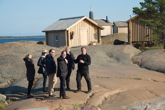 Pohjoismaiden pääministerit kokoontuivat Ahvenanmaalle syyskuussa 2016.