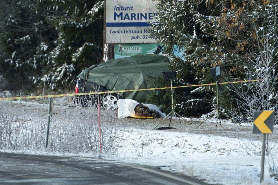 Three killed in southwest Finland car crash | Yle Uutiset | yle fi
